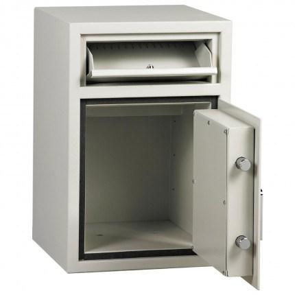 Dudley Hopper CR3000 Size 1 £3000 Cash Deposit Security Safe - door open