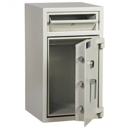 Dudley Hopper CR3000 Size 2 £3000 Cash Deposit Security Safe - door ajar
