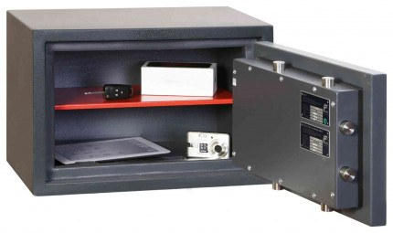 Phoenix Venus HS0651K Eurograde 0 Key Lock Security Safe - interior view