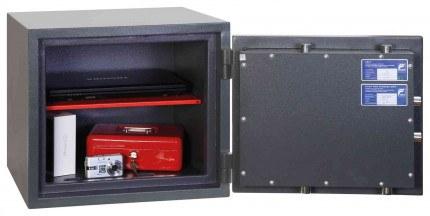 Phoenix Venus HS0652E Eurorade 0 Digital Fire Security Safe - door open showing security cerification