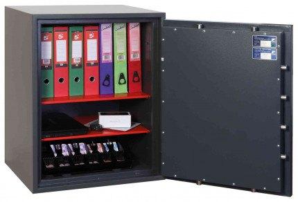 Phoenix Venus HS0654E Eurograde 0 Digital Fire Security Safe - showing certification