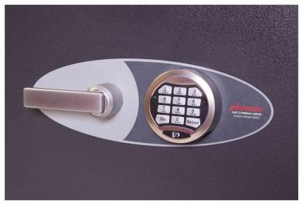 Phoenix Venus HS0654E Eurograde 0 Digital Fire Security Safe - electronic lock detail