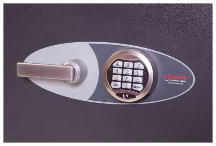 Phoenix Neptune HS1051E Grade 1 Digital Fire Security Safe - electronic lock detail