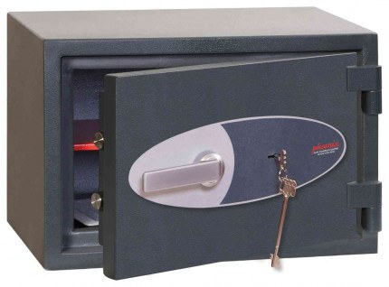 Phoenix Neptune HS1051K Eurograde 1 Key Lock Security Safe - ajar