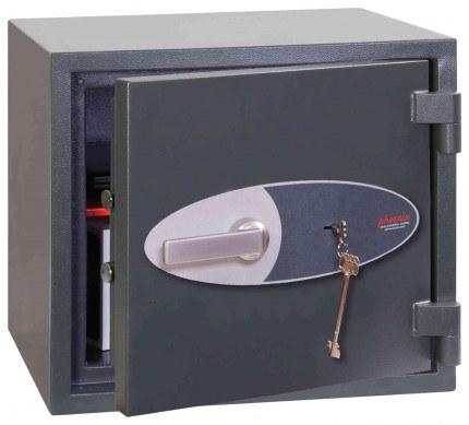 Phoenix Neptune HS1052K Eurograde 1 Key Lock Security Safe - ajar