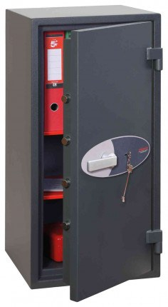 Phoenix Neptune HS1054K Eurograde 1 Key Lock Security Safe - door ajar