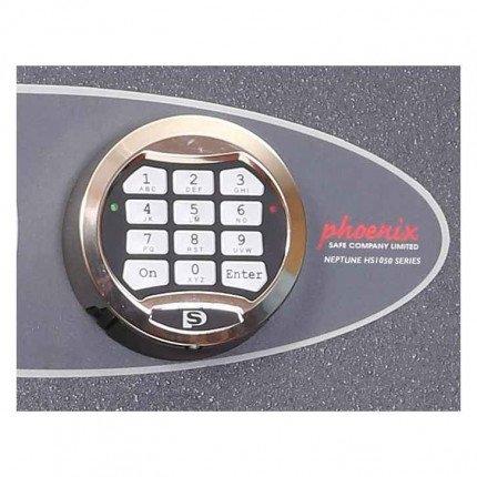 Phoenix Neptune HS1055E Eurograde 1 Electronic Digital Lock Close Up