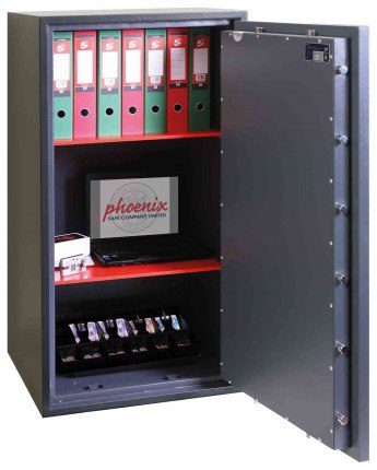 Phoenix Neptune HS1055K Eurograde 1 Key Lock Security Safe - open