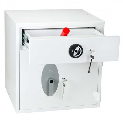 Police Approved £10,000 Cash Deposit Safe - Phoenix Diamond HS1191KD - drawer open