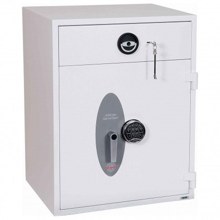 Police Approved £10,000 Cash Deposit Safe - Phoenix Diamond HS1192ED Electronic - Closed