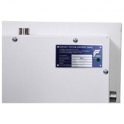 Eurograde 1 Deposit Safe - Phoenix Diamond HS1093ED  - test certificate
