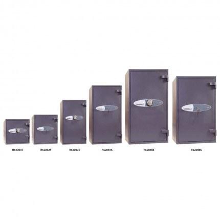 Phoenix Mercury HS2050 Series Eurograde 2 Fire High Security Safe
