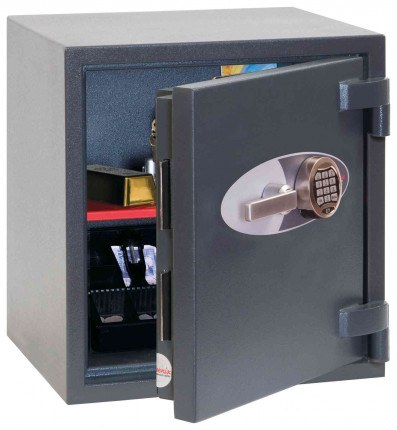 Phoenix Mercury HS2051E Grade 2 Digital Fire Security Safe - door ajar