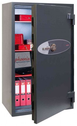 Phoenix Mercury HS2055E Grade 2 Digital Fire Security Safe - door ajar