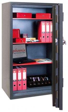 Phoenix Mercury HS2055E Grade 2 Digital Fire Security Safe - interior