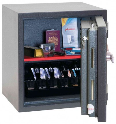 Phoenix Elara HS3551E Grade 3 Digital Electronic Fire Security Safe - open