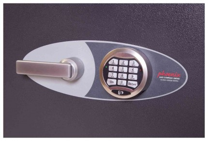 Phoenix Elara HS3551E Grade 3 Digital Electronic Fire Security Safe - lock detail