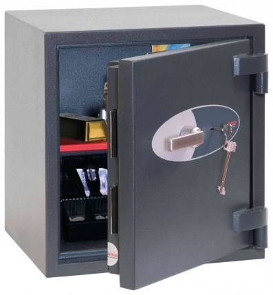 Phoenix Elara HS3551K Key Locking Eurograde 3 High Security Fire Safe - door ajar