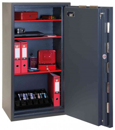 Phoenix Elara HS3554K Key Locking Eurograde 3 High Security Fire Safe - interior