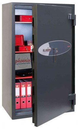 Phoenix Elara HS3555K Key Locking Eurograde 3 High Security Fire Safe - door ajar