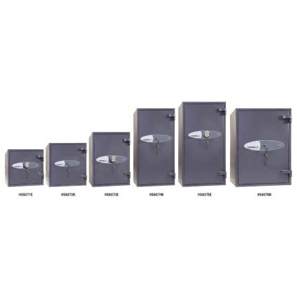 Phoenix Planet HS6070 Series Police Approved Eurograde 4 Fire Safes range