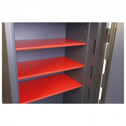 Phoenix Planet HS6076E Police Approved Dual Key & Electronic Eurograde 4 Fire Safe - supplied 2 shelves