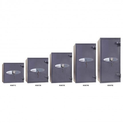 Phoenix Cosmos HS9070 Police Approved Dual Key & Electronic Eurograde 5 Fire Safes range