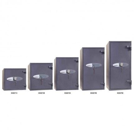 Phoenix Cosmos HS9070 Police Approved Dual Key Locking Eurograde 5 Fire Safes range