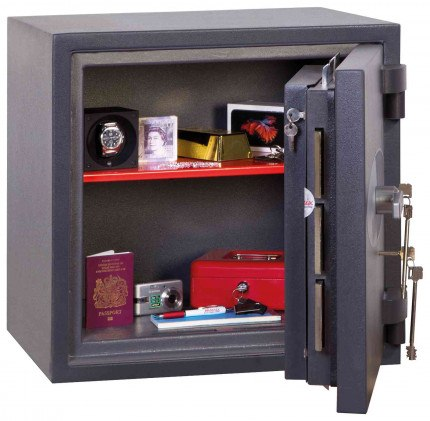 Phoenix Cosmos HS9071K Dual Key Locking Eurograde 5 Safe - Fully Open Door