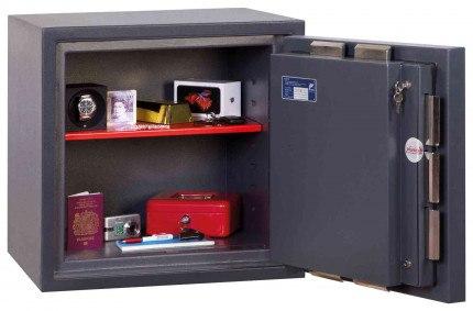 Phoenix Cosmos HS9071K Dual Key Locking Eurograde 5 Safe - Wide Open Door