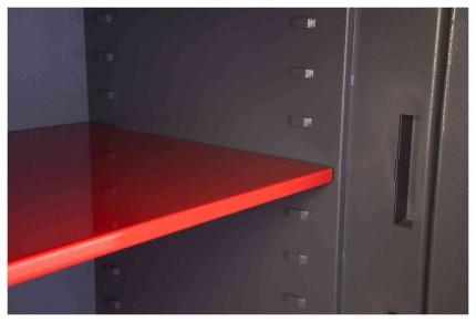 Phoenix Cosmos HS9072E Dual Key & Electronic Locking Eurograde 5 Safe - Shelf Close Up