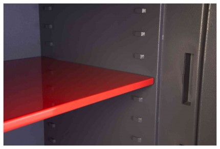 Phoenix Cosmos HS9072K Dual Key Locking Eurograde 5 Safe - Shelf Close Up