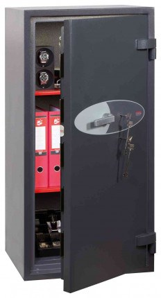 Phoenix Cosmos HS9074K Dual Key Locking Eurograde 5 Safe - Open Door