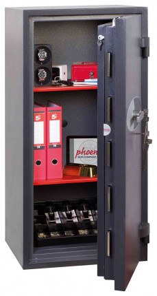 Phoenix Cosmos HS9074K Dual Key Locking Eurograde 5 Safe - Fully Open Door