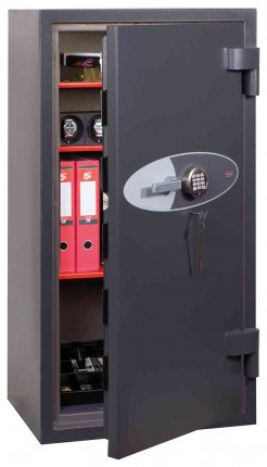 Phoenix Cosmos HS9075E Dual Key & Electronic Eurograde 5 Safe - Open Door