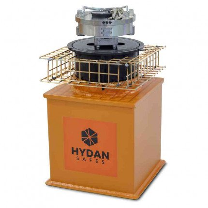 "Hydan Aston Size 1 £17,500 Rated 9"" Round Door Floor Safe"