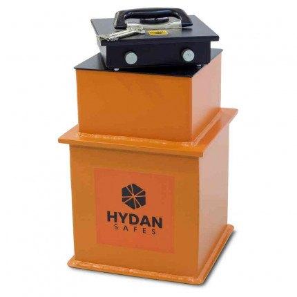 """Hydan Briton Size 1 £4000 Rated 9"""" Square Door Floor Safe"""