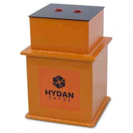 """Hydan Briton Size 1 £4000 Rated 9"""" Square Door Floor Safe - Closed"""