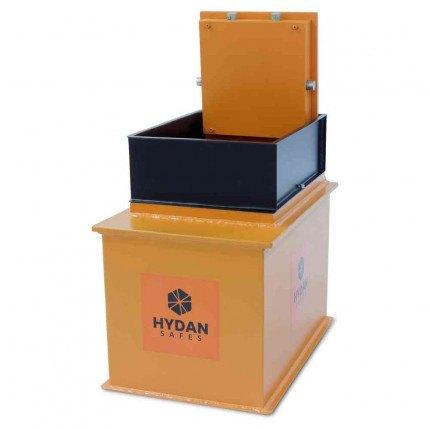 Hydan Clubman Size 1 £6000 Large Capacity Floor Safe - door open