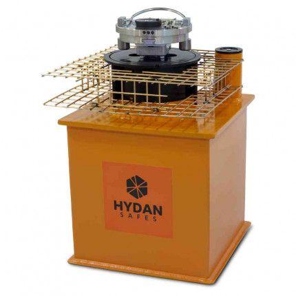 """Hydan Cobalt Deposit £10,000 Rated 12"""" Round Door Floor Safe"""