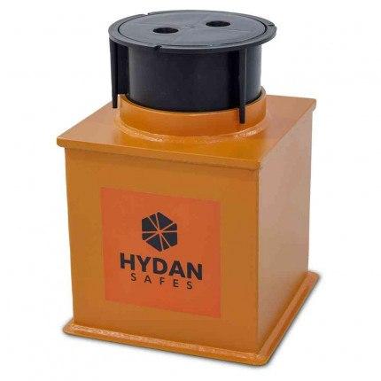 """Hydan Standard 1 £4000 Rated 9"""" Round Door Floor Safe Closed"""