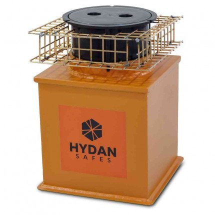 """Hydan Knight Size 1 £6000 Rated 9"""" Round Door with optional mesh cageFloor Safe"""