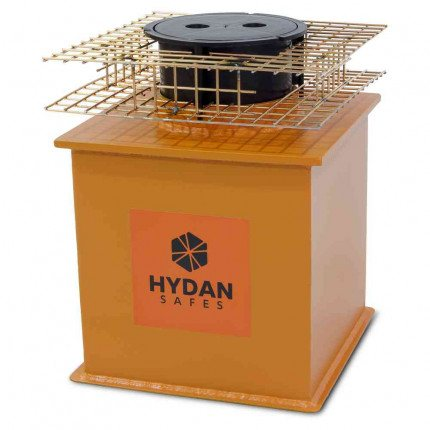 """Hydan Knight Size 2 £6000 Rated 12"""" Round Door Floor Safe with optional mesh cage"""