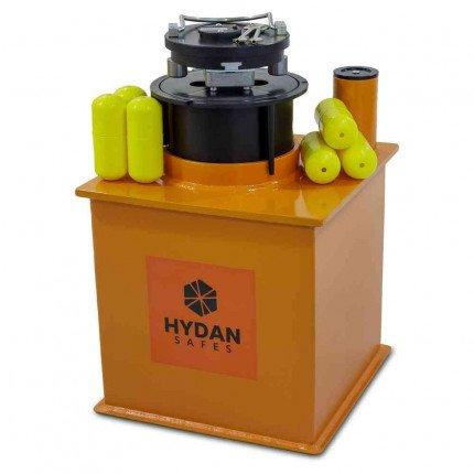 """Hydan Standard £4000 Rated 12"""" Round Door Floor Deposit Safe with capsules"""
