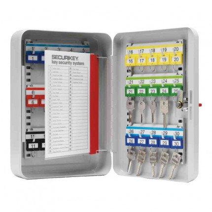 Securikey KC030 Key Cabinet Key Lock 30 Keys - door open