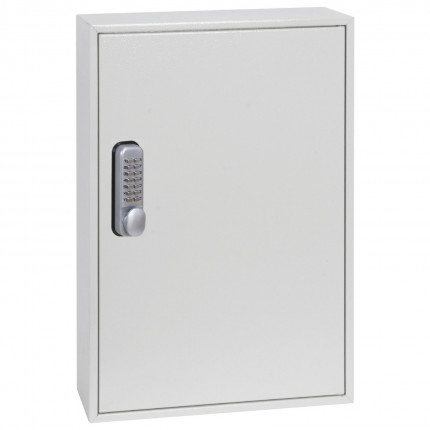 Phoenix KC0502M inside cabinet is adjustable hook bars, key tags, key rings, and removable control indexes