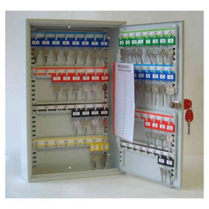 Securikey KC064 Key Cabinet Key Lock 64 Keys - door open