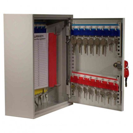 Securikey KD048 Extra Deep Key Cabinet Key Lock 48 Keys - door open