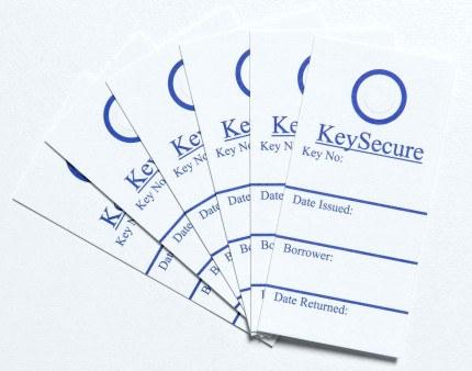Keysecure Key Control Location Cards