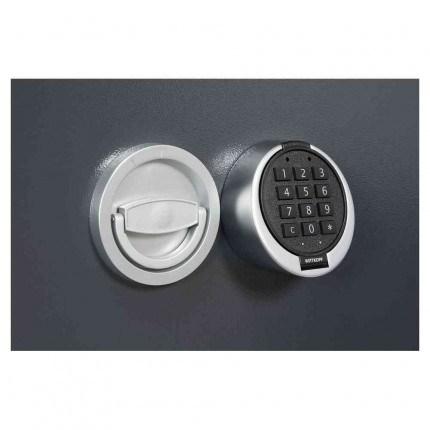 Keysecure Victor Eurograde 1 Electronic Security Safe Size 2 - close up